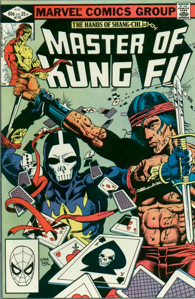 Master of Kung Fu # 115
