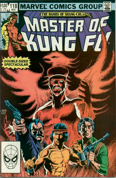 Master of Kung Fu # 118