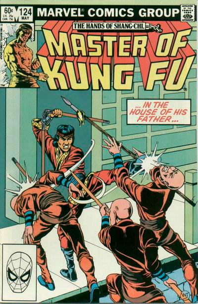 Master of Kung Fu # 124