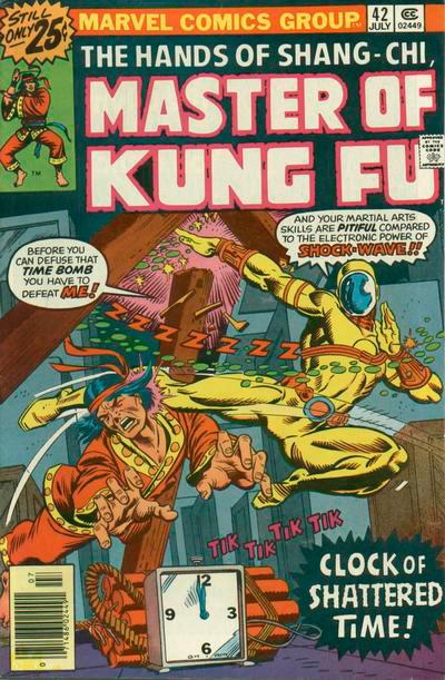 Master of Kung Fu # 42