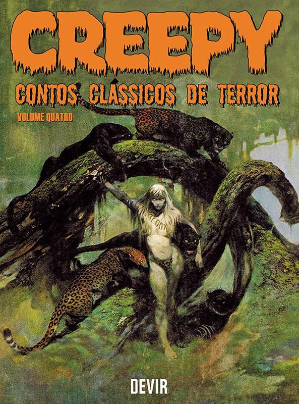 Creepy - Contos clássicos de terror - Volume 4