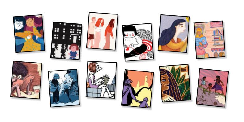 Doodle do Dia Internacional da Mulher