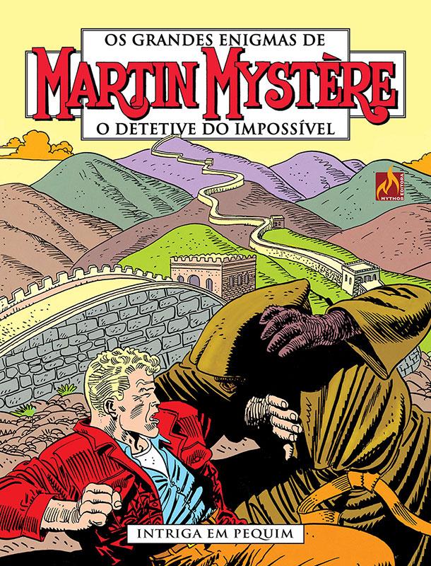 Martin Mystère # 1 - Intriga em Pequim