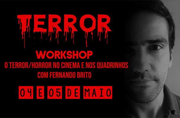 Workshop sobre Terror nos quadrinhos e cinema