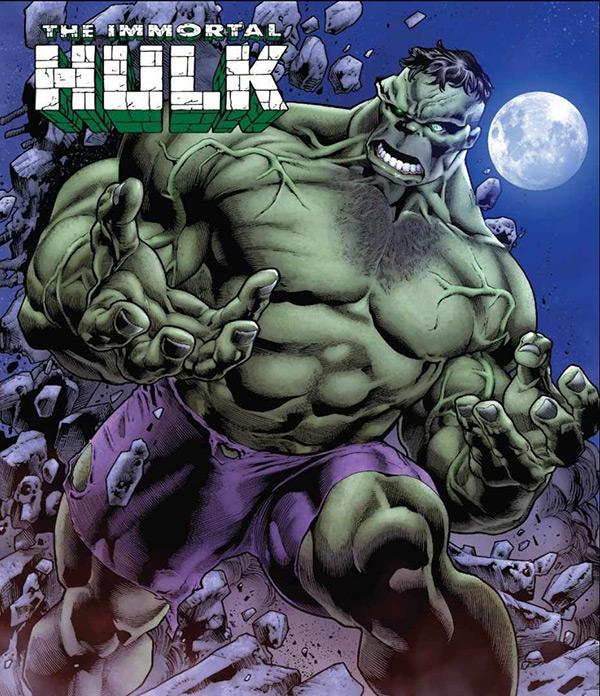 Hulk, em Os Vingadores, arte de Joe Bennett