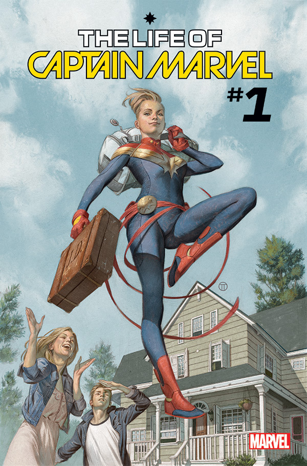 The Life of Captain Marvel # 1