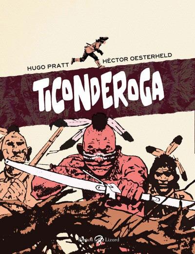Capa da edição itaiana de Ticonderoga