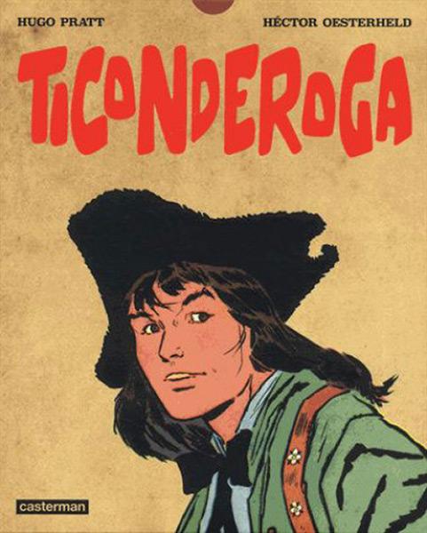 Capa da caixa de Ticonderoga