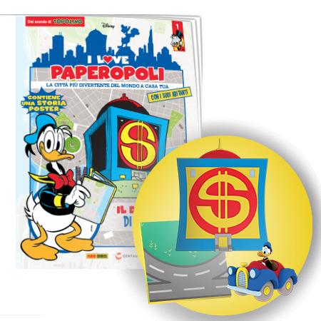 I Love Paperopoli # 1