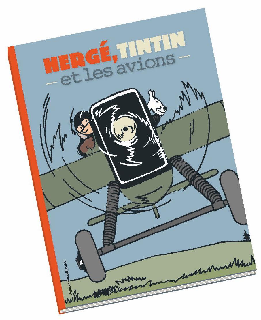 Hergé, Tintin et les Avions