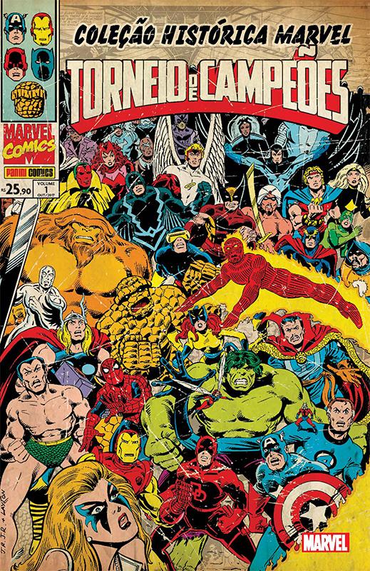 Coleção Histórica Marvel – Torneio de Campeões # 1