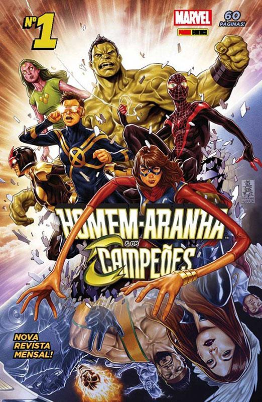 Homem-Aranha e os Campeões # 1