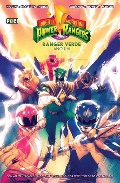 Mighty Morphin Power Rangers – Ranger Verde – Ano Um