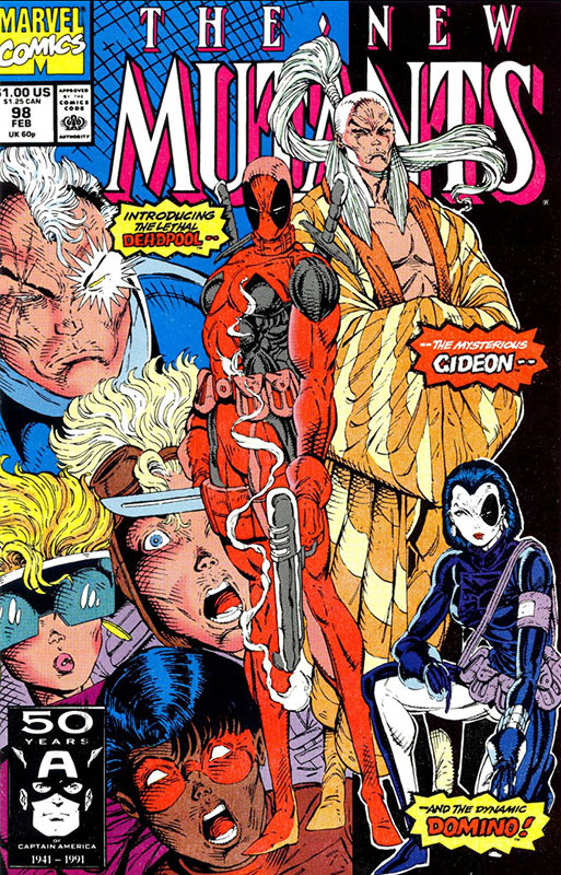 The New Mutants # 98