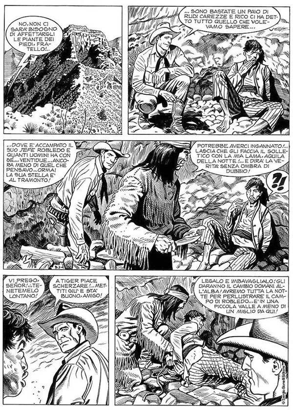 Tex Speciale # 33, arte de Majo