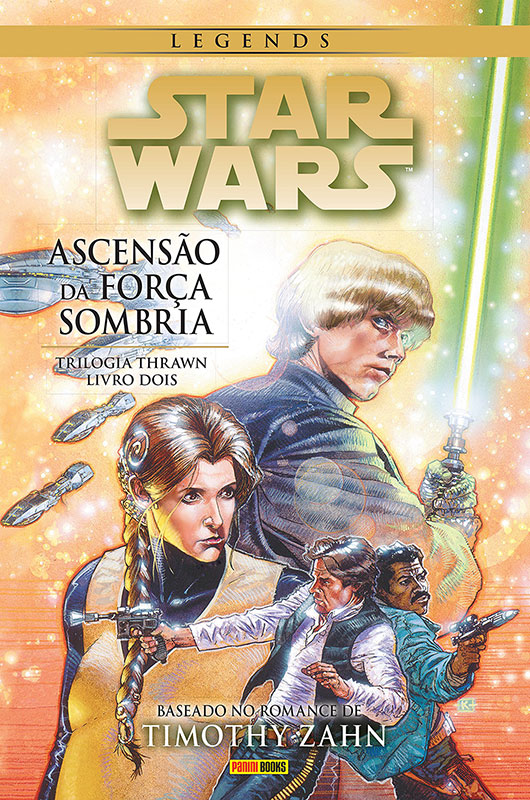 Star Wars Legends - A Trilogia Thrawn - Volume 2 - A Ascensão da Força Sombria