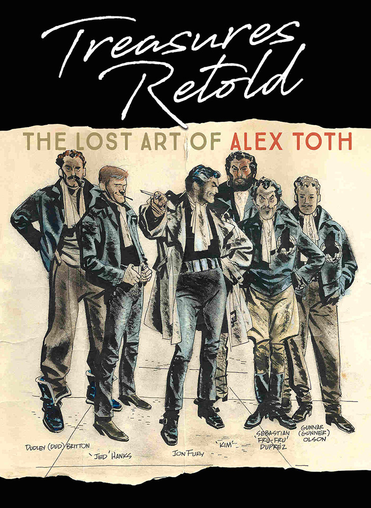 Treasures Retold - The Lost Art of Alex Toth