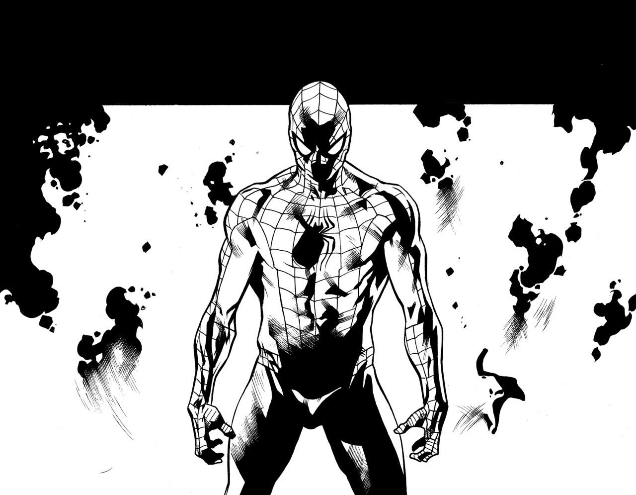 Homem-Aranha, arte de Stuart Immonen
