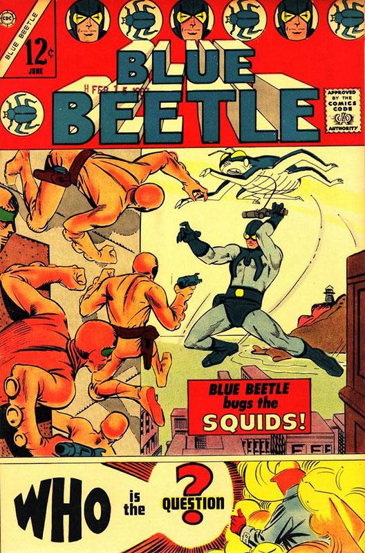 Blue Beetle # 1
