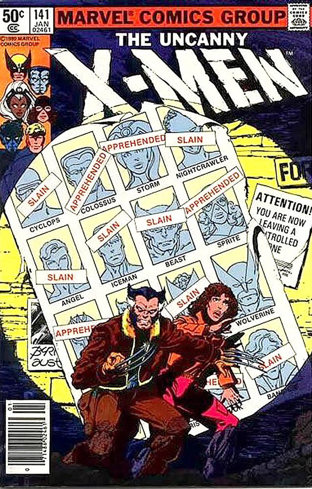 The Uncanny X-Men # 141, aventura clássica dos mutantes