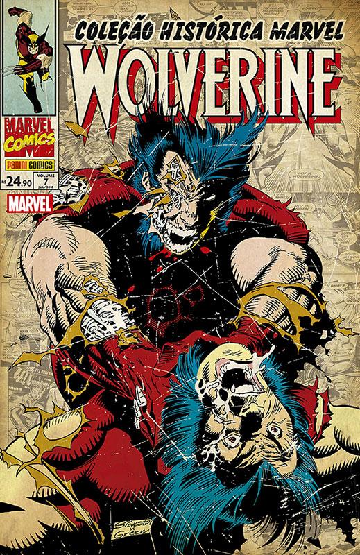 Coleção Histórica Marvel - Wolverine - Volume 7