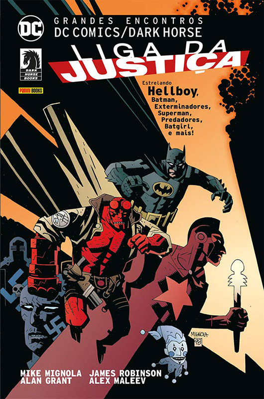 Grandes Encontros DC Comics/Dark Horse - Liga da Justiça - Volume 1