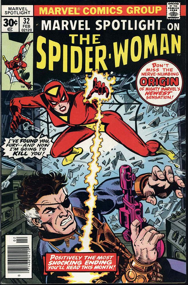 Mulher-Aranha, em Marvel Spotlight # 32