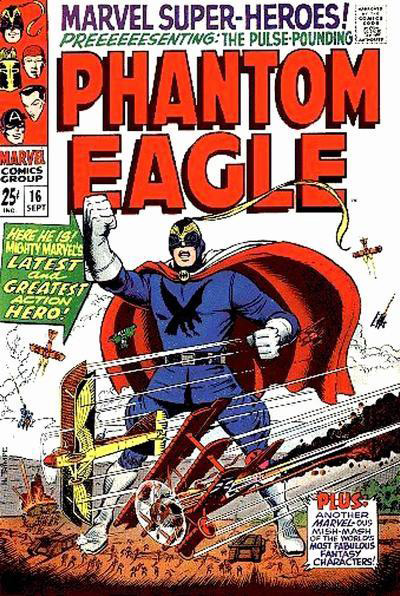 Phantom Eagle, em Marvel Super-Heroes # 16