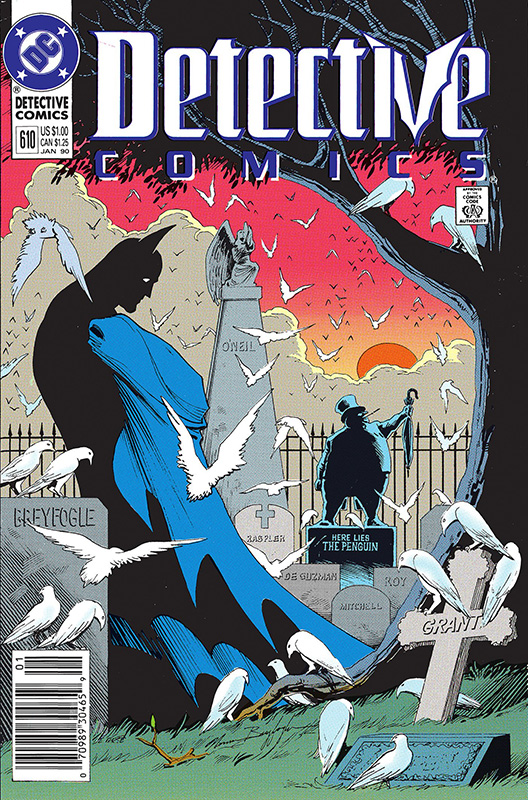 Detective Comics # 610