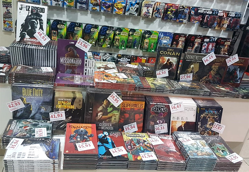 Graphic novels da Mythos na Heroic