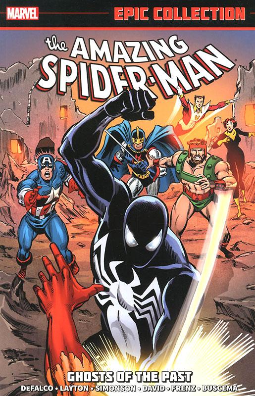 Homem-Aranha com o uniforme negro
