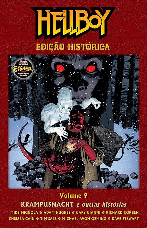 Hellboy - Edição Histórica - Volume 9 - Krampusnacht e outras histórias