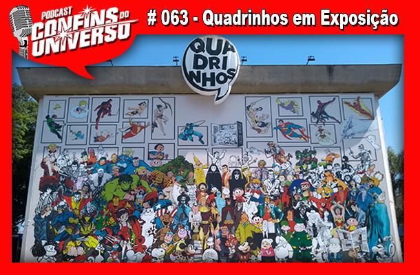 Confins do Universo 063 - Quadrinhos em Exposição