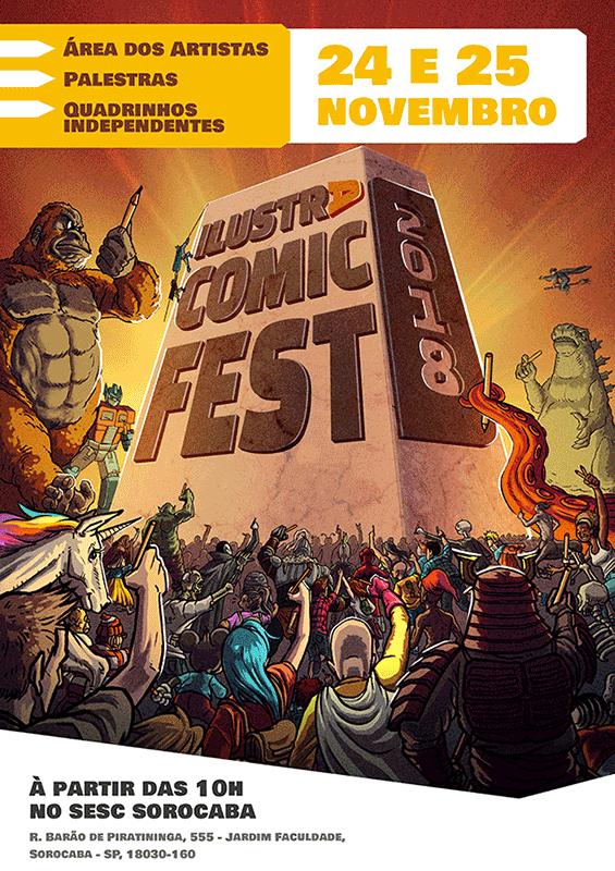 Ilustra Comic Fest 2018