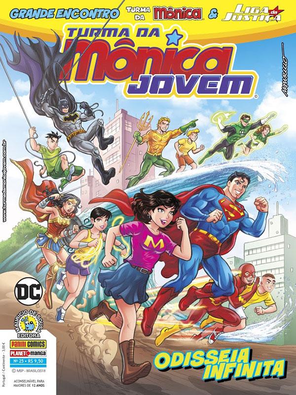 Box Turma da Mônica & Liga da Justiça