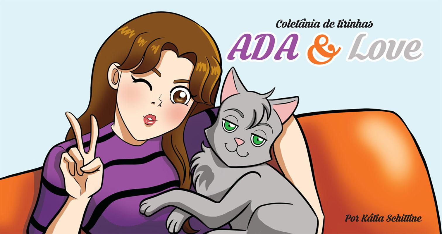 Coletânia de tirinhas Ada & Love