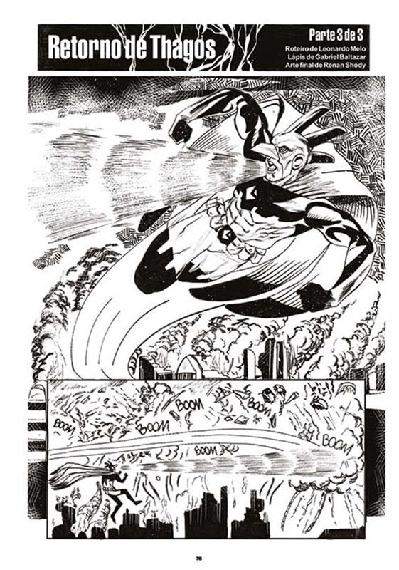 O Gralha - O herói, o pinhão, o louco e a morte