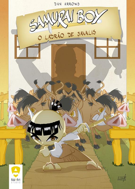 Samurai Boy - O ladrão de javalis