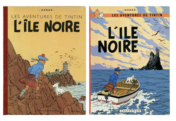 Tintin L'ile Noire