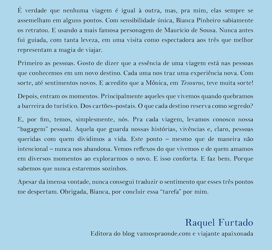 Texto de Raquel Furtado