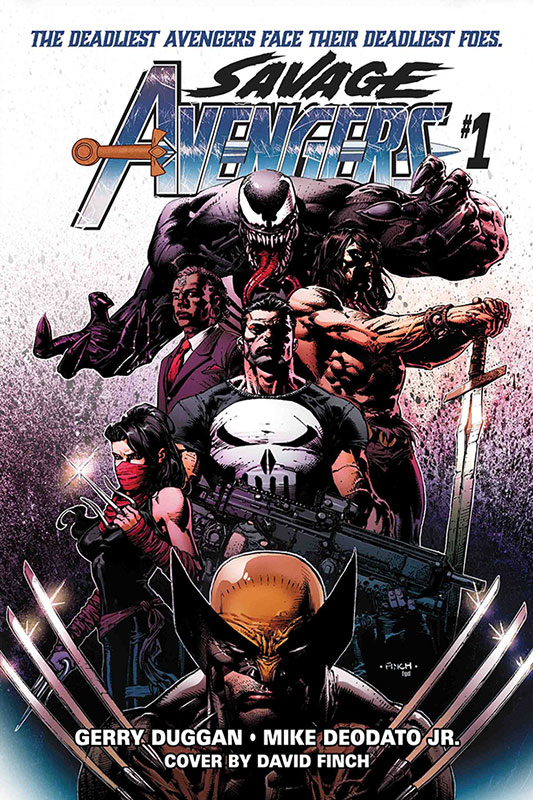 Savage Avengers # 1