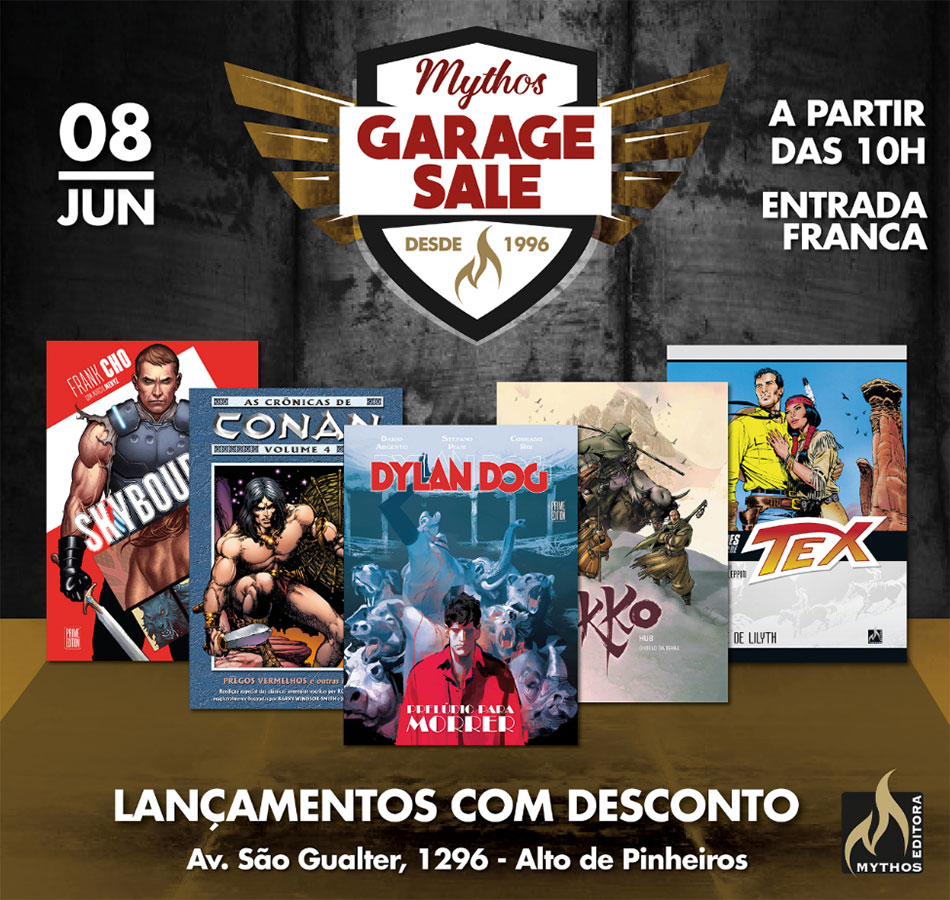 Garage Sale da Mythos