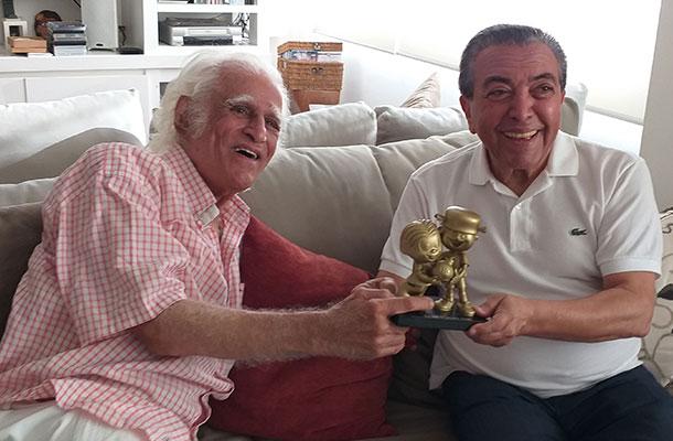 Ziraldo e Mauricio de Sousa