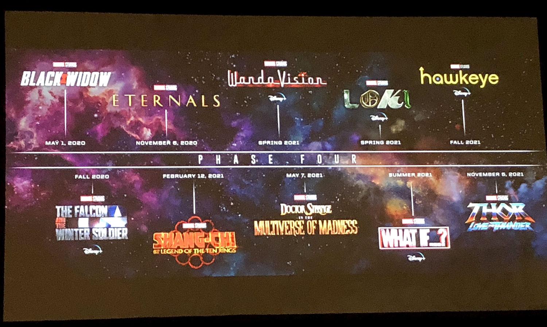 Fase 4 do Universo Marvel Cinematográfico