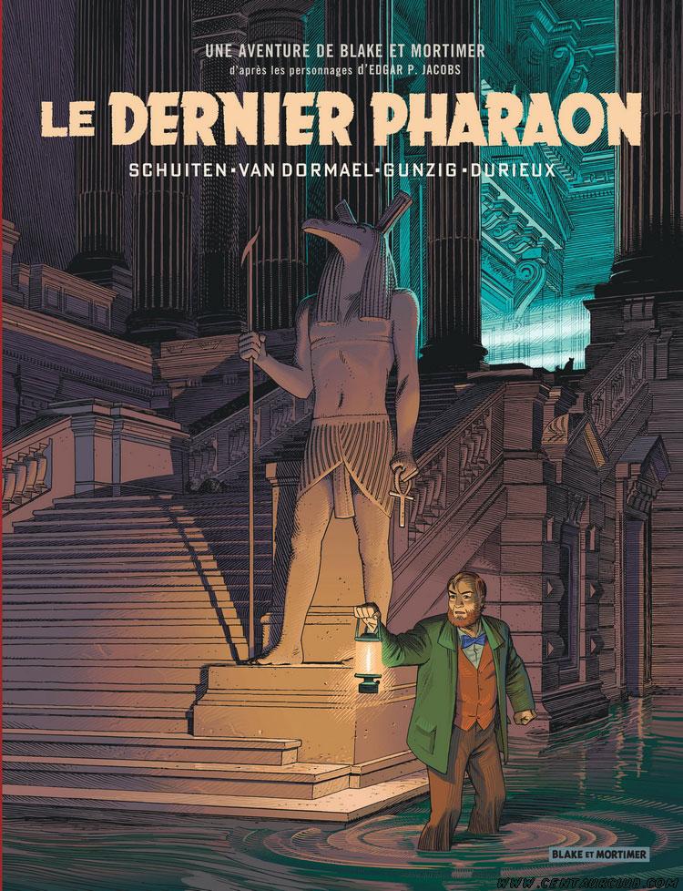 Le Dernier Pharaon, edição tradicional