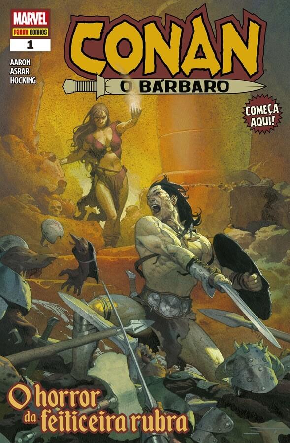 Conan, o Bárbaro # 1