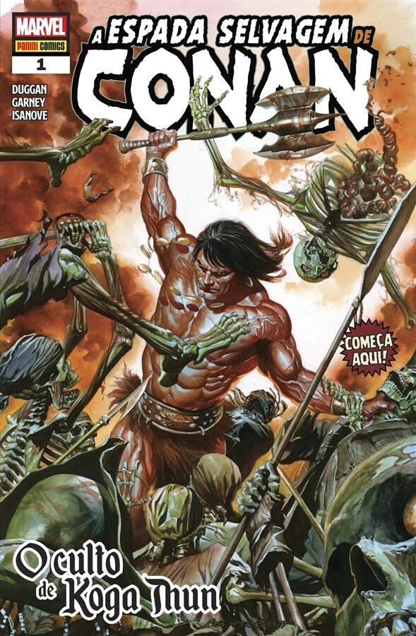 A Espada Selvagem de Conan # 1