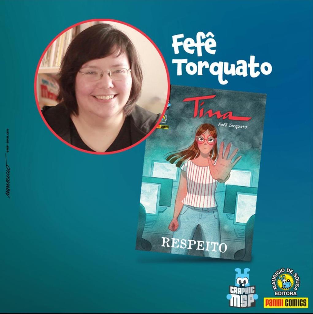 Fefê Torquato, autora de Tina - Respeito