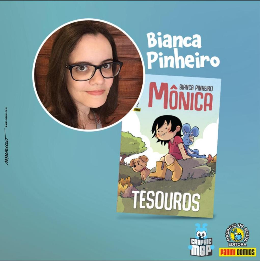 Bianca Pinheiro, autora de Mônica - Tesouros