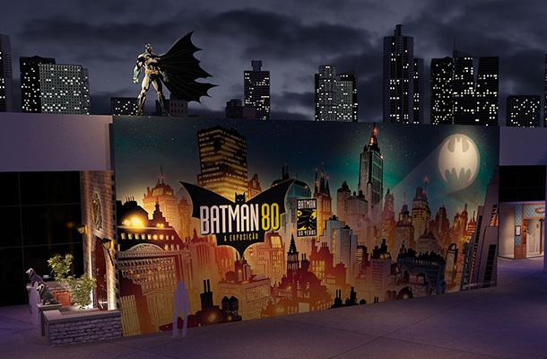 Batman 80 – A exposição